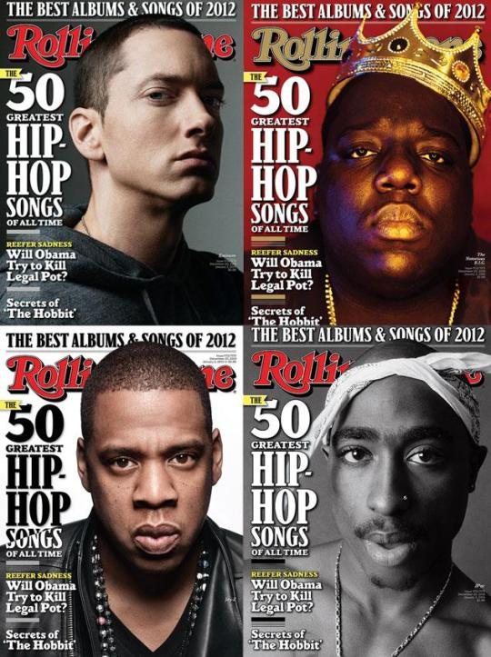 top 100 rappers of all time 2012
