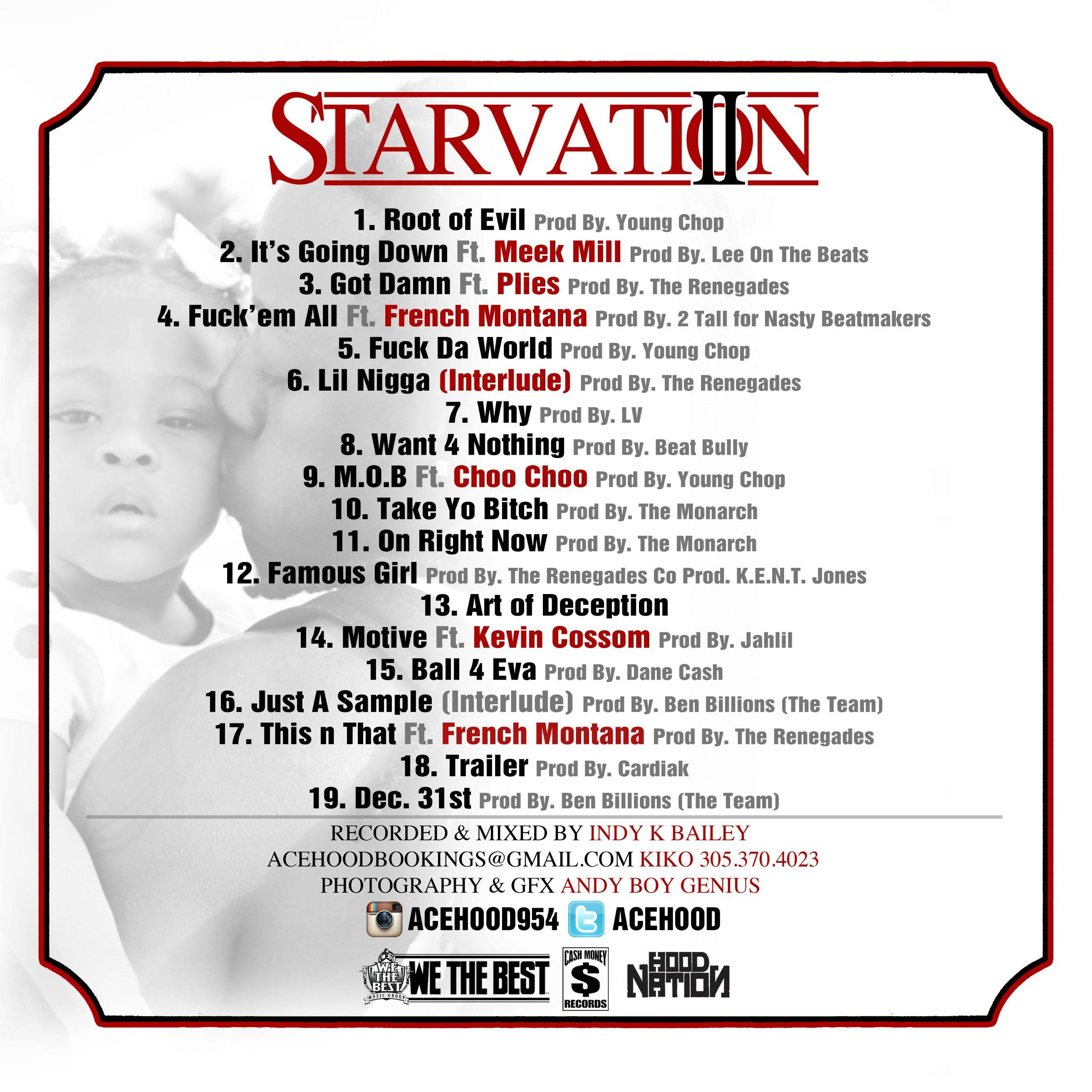 Tracklist Revealed For Ace Hood's