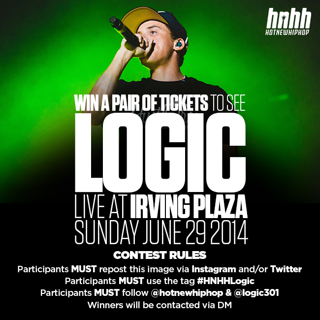 743b049ae029c Win Tickets To See Logic Live In NYC