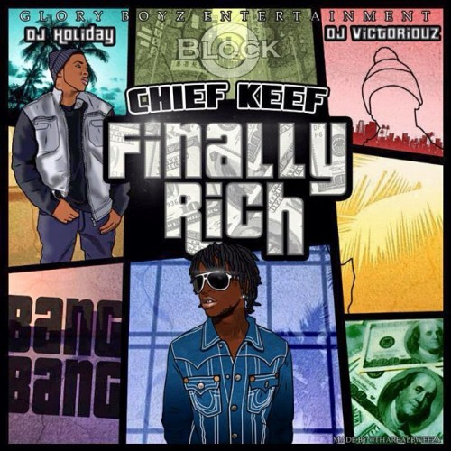 updated cover art revealed for chief keefs quotfinally rich